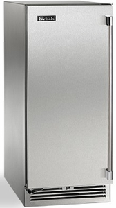 "HP15WO31R Perlick 15"" Signature Series Right Hinge Built-In Outdoor Wine Reserve with 20 Wine Storage and RapidCool Forced Air Refrigeration System - Stainless Steel"