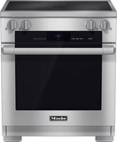 """HR16222i Miele 30"""" M-Touch Induction Range - Stainless Steel"""