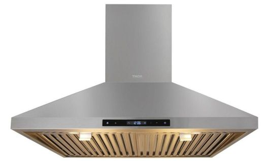 "HRH3007 Thor Kitchen 30"" Professional Wall Mount Chimney Range Hood with 600 CFM - Stainless Steel"