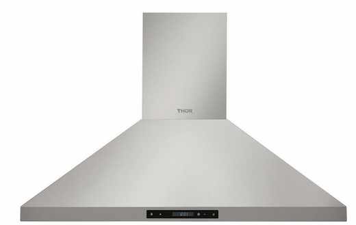 """HRH3607 Thor Kitchen 36"""" Professional Wall Mount Chimney Range Hood with 600 CFM - Stainless Steel"""