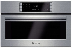 """HSLP451UC Bosch Benchmark Series 30"""" Steam Convection Oven with European Convection - Stainless Steel"""
