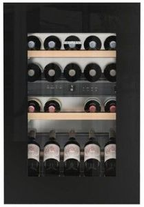 "HWGB3300 Liebherr 24"" Built-In Fully Integrated Wine Cabinet with SoftSystem and TipOpen Technology - Black"