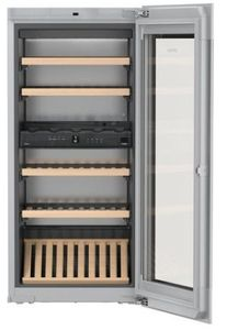 """HWGB5100 Liebherr 24"""" Built-In Fully Integrated Wine Cabinet with SoftSystem and TipOpen Technology - Black"""