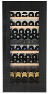 "HWGB5100 Liebherr 24"" Built-In Fully Integrated Wine Cabinet with SoftSystem and TipOpen Technology - Black"