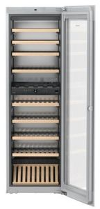 """HWGW8300 Liebherr 24"""" Built-In Fully Integrated Wine Cabinet with SoftSystem and TipOpen Technology - White"""