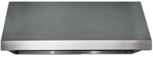 """HWHP4818S Dacor 48"""" Professional Wall Mount Hood with Elegant Control Panel and Four Speed Fan - Stainless Steel"""
