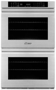 "HWO230FS Dacor 30"" Contemporary Collection Electric Double Wall Oven with Flush Handle - Stainless Steel"
