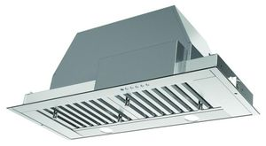 """INSD35SSV Faber 35"""" INCA SD Pro Insert Hood with 4 Speed Electronic Push Controls and 600 CFM - Stainless Steel"""