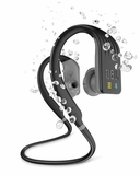 JBLENDURDIVEBLK JBL Endurance Dive Wireless Sports Headphones with MP3 Player and PowerHook - Black