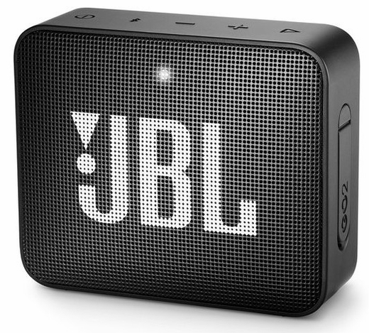 JBLGO2BLK JBL Portable Bluetooth Speaker with Wireless Bluetooth Streaming and Waterproof Design - Black