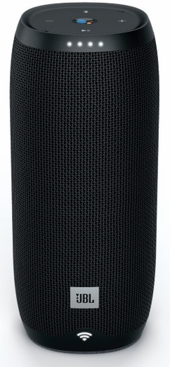 JBLLINK20BLKUS JBL Link 20 Voice Activated Portable Speaker with Built In Chromecast and Wireless Bluetooth Streaming - Black