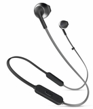 JBLT205BTBLK JBL Earbud Headphones with JBL Pure Bass Sound and Comfort Fit Earbuds - Black