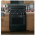 "JGB660FEJDS GE 30"" Free-Standing Gas Range with Edge-to-edge Cooktop and Precise Simmer Burner - Black Slate"