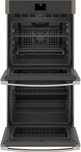 """JKD5000ENES GE 27"""" Built-In Electric Double Wall Oven with True European Convection and Self Clean - Slate"""