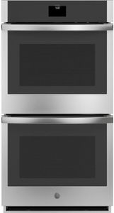"JKD5000SNSS GE 27"" Built-In Electric Double Wall Oven with True European Convection and Self Clean - Stainless Steel"