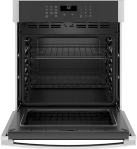 """JKS3000SNSS GE 27"""" Electric Built-In Single Wall Oven with Never Scrub Heavy Duty Racks and Self Clean - Stainless Steel"""