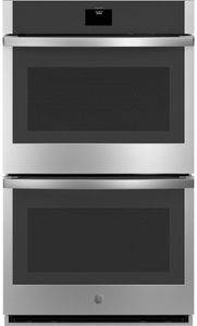 """JTD5000SNSS GE 30"""" Electric Built-In Double Wall Oven with True European Convection and Self Clean - Stainless Steel"""