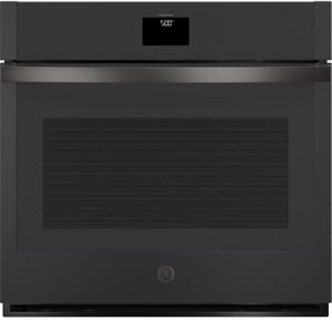 """JTS5000FNDS GE 30"""" Electric Built-In Single Wall Oven with True European Convection and Self Clean - Black Slate"""