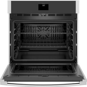 """JTS5000SNSS GE 30"""" Electric Built-In Single Wall Oven with True European Convection and Self Clean - Stainless Steel"""
