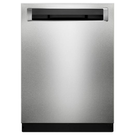 "KDPE234GPS KitchenAid 24"" Built-In Dishwasher with Third Level Rack and Heat Dry Option - PrintShield Stainless Steel"