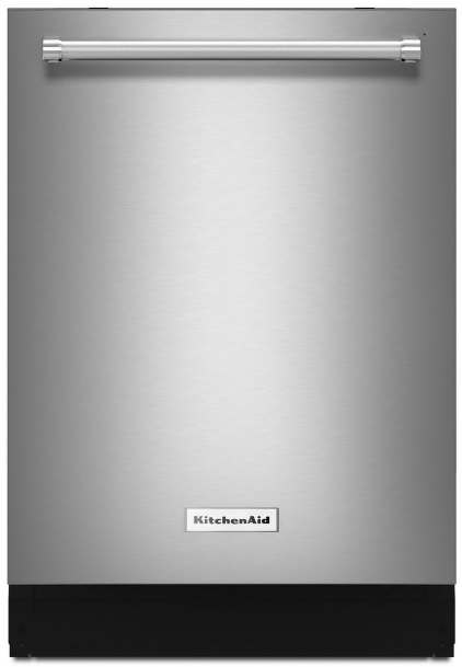 Kdte234gps Kitchenaid 24 Built In Tall Tub Dishwasher With Third Level Rack And Prowash Cycle Printshield Stainless Steel