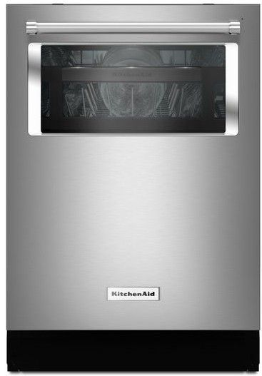Kdtm804ess Kitchenaid 44 Dba 24 Quot Dishwasher With Window