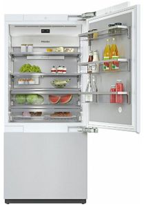 "KF2901VI Miele 36"" Master Cool Series Built-In Bottom Mount Counter Depth Refrigerator with Icemaker and DynaCool - Right Hinge - Custom Panel"