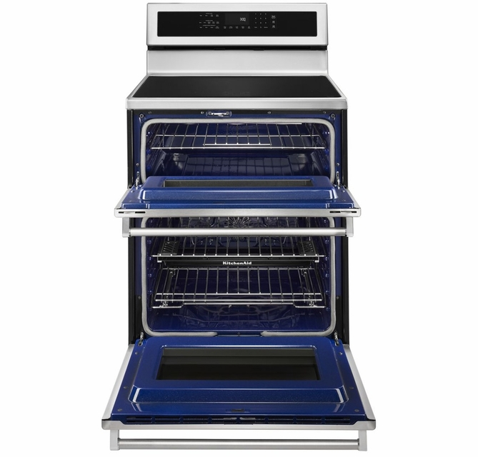 Kfid500ess 30 Kitchenaid 6 7 Cu Ft Electric 5 Burner