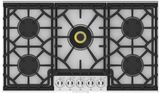 """KGC36 Hestan 36"""" KGC Series Gas Cooktop with 5 Burners  - Natural Gas - Stainless Steel"""