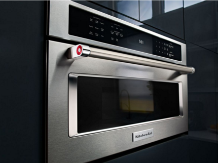 Kmbp100ebs Kitchenaid 30 Quot Built In Microwave Oven With