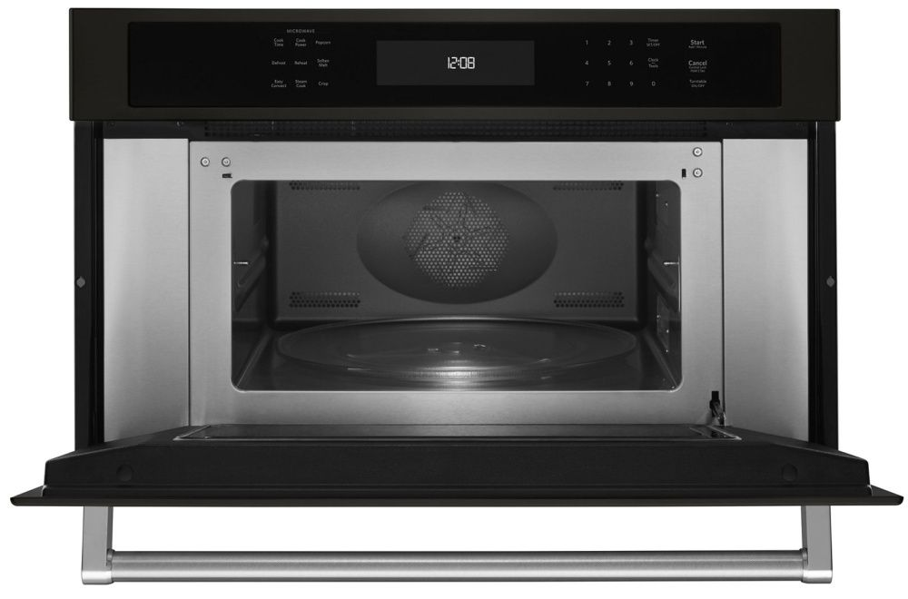 """kmbp100ebs kitchenaid 30"""" built in microwave oven with"""