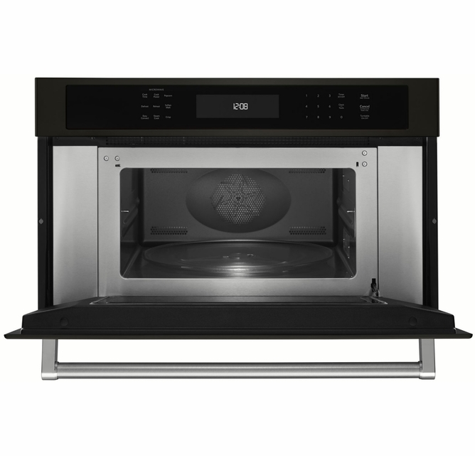 Kmbp100ebs Kitchenaid 30 Built In Microwave Oven With Convection