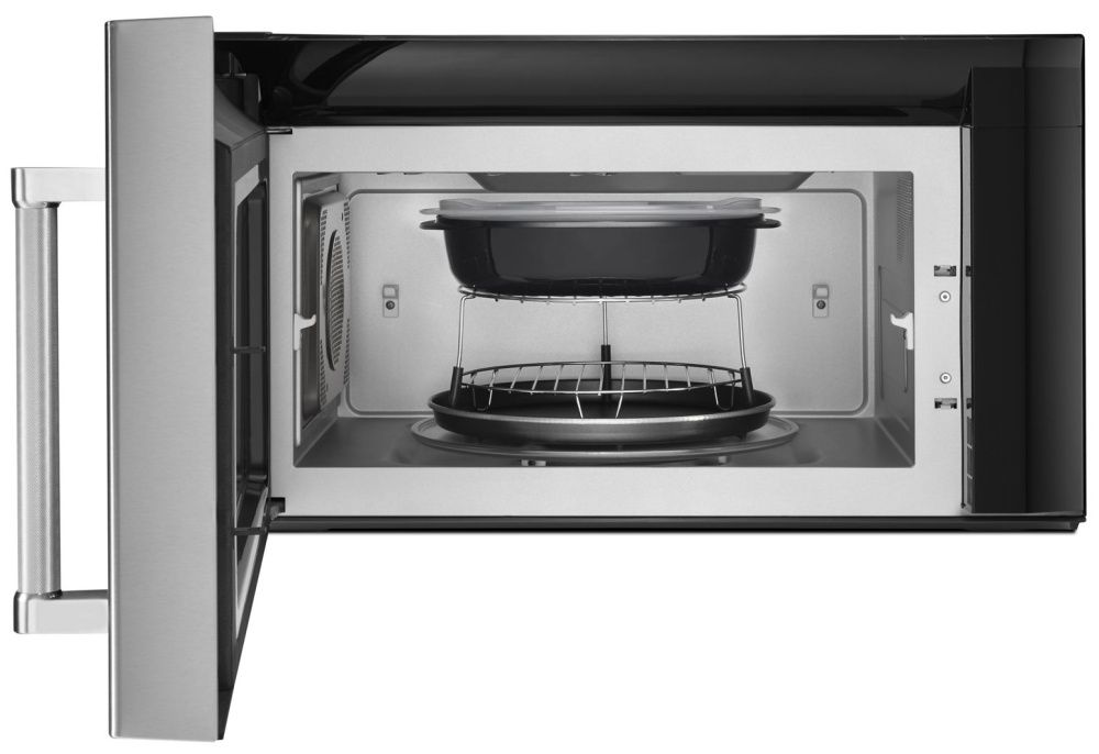 Kmhp519ess Kitchenaid 1200w Convection Microwave With High