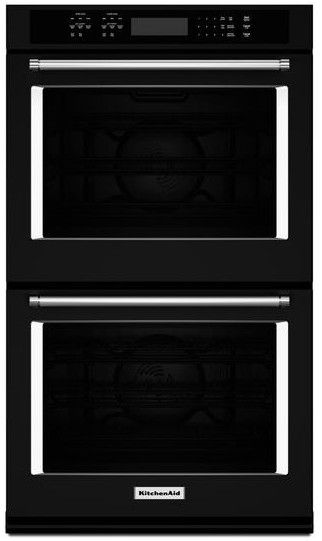 Kode507ebl Kitchenaid 27 Quot Double Wall Oven With Even Heat