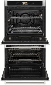 """KODE900HSS KitchenAid 30"""" Double Wall Oven with Even-Heat and True Convection - Stainless Steel"""