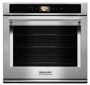 "KOSE900HSS KitchenAid 30"" Single Wall Oven with Even-Heat and True Convection - Stainless Steel"