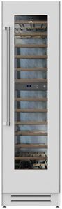 """KWCR24 Hestan 24"""" KWC Series Built In Dual Zone Wine Cooler with 72 Bottle Capacity - Right Hinge - Steeletto Stainless Steel"""