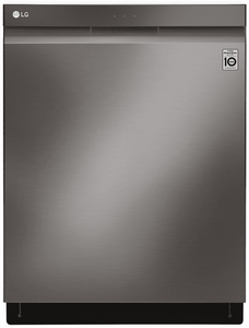 LDP6809BD LG Built-In Fully Integrated Dishwasher with WiFi Connect and 9 Wash Options - Black Stainless Steel