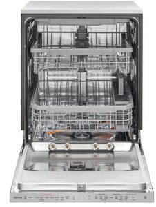 LDP6809SS LG Built-In Fully Integrated Dishwasher with WiFi Connect and 9 Wash Options - PrintProof Stainless Steel