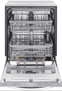 "LDT6809SS LG 24"" Built-In Fully Integrated Dishwasher with LG QuadWash and 10 Wash Cycles - Stainless Steel"