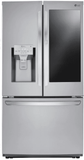 """LFXS26596S 36""""  French Door Refrigerator with InstaView and SmartThinkQ Technology - Stainless Steel"""