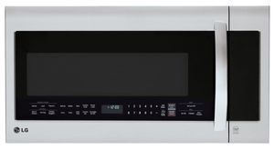 "LMVM2033ST LG 30"" Over-The-Range Microwave Oven with EasyClean and QuietPower Ventilation System - Stainless Steel"