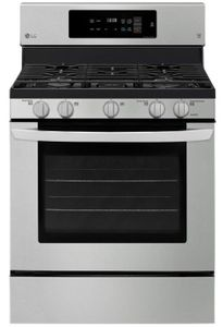 """LRG3194ST LG 30"""" Single Oven Convection Gas Range with EasyClean and Self Clean - Stainless Steel"""