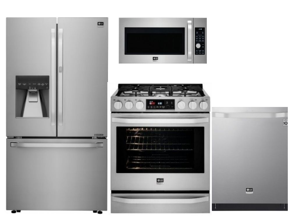 Package Ls2 Lg Studio Appliances 4 Piece Appliance Package