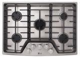 "LSCG307ST LG Studio 30"" Pro Style Integrated Gas Cooktop with Dual Stacked UltraHeat - Stainless Steel"