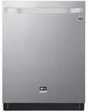 "LSDT9908ST LG Studio 24"" Top Control Smart Wi Fi Enabled Dishwasher with SmoothTouch Controls and Quadwash - Stainless Steel"