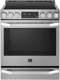 "LSIS3018SS LG 30"" Studio Slide-In Smart Induction Range with ProBake Convection - Stainless Steel"
