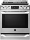 LSSE3027ST LG Studio Slide-In Electric Range with Wi-Fi Connectivity and Voice Commands - Stainless Steel