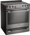 """LSSE3030BD LG Studio 30"""" Slide-In Electric Range with Wi-Fi Connectivity and Voice Commands - Black Stainless Steel"""