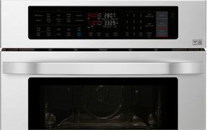 """LSWC307ST LG Studio 30"""" Smart WiFi Enabled Combination Wall Oven with SmartThinQ and Infrared Heating - Stainless Steel"""